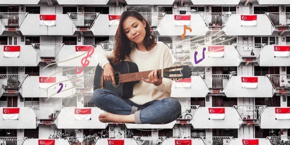 Sing a song for Singapore with guitar chords from our NDP favourites - 'Home', 'Where I Belong', 'Our Singapore', and more