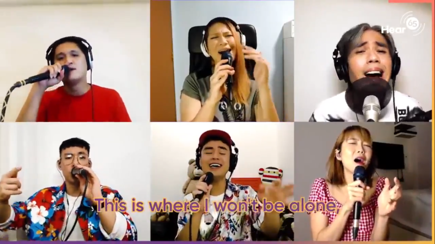 Creative renditions of top favourite National Day Songs to celebrate Singapore