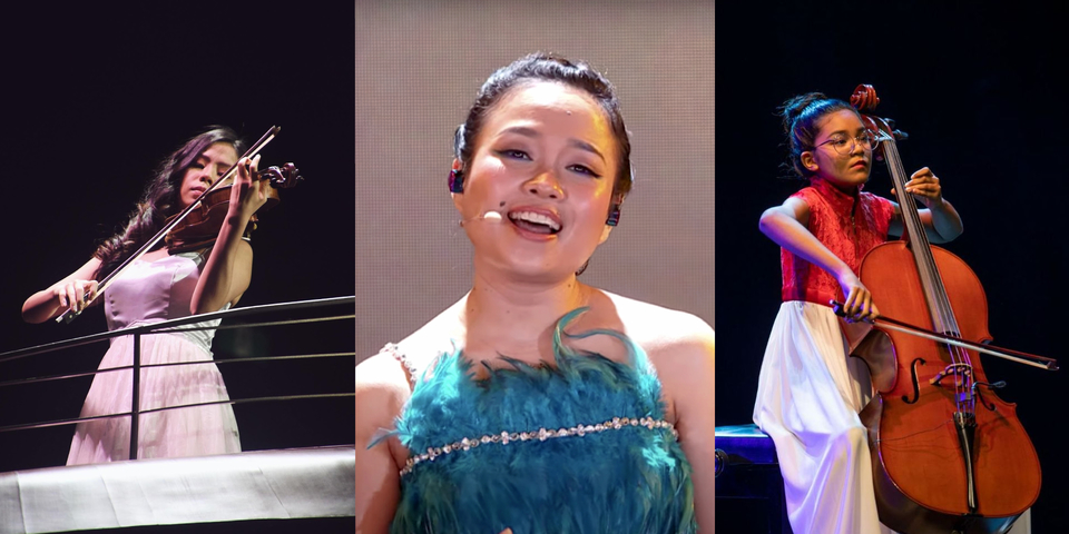 Part 1: NDP Debutants Jaz Loh, NAMIE, and Heema Izzati on the highs and lows of playing NDP for the first time