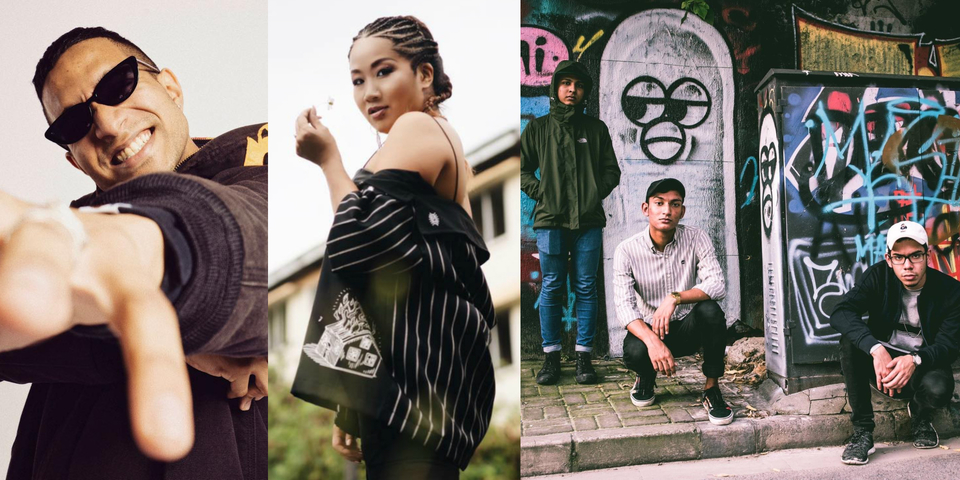 Discover hip hop from Singapore with music from Yung Raja, Masia One, Mediocre Haircut Crew and more