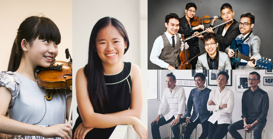 Explore Singapore's classical music scene with homegrown musicians Chloe Chua, Abigail Sin, Lorong Boys, T'ang Quartet, and more
