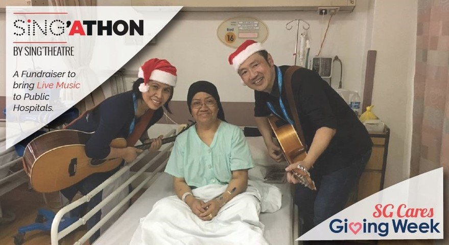 Hossan Leong, Joshua Simon, Mina Kaye, and more to perform at SINGATHON to bring live music to hospital patients