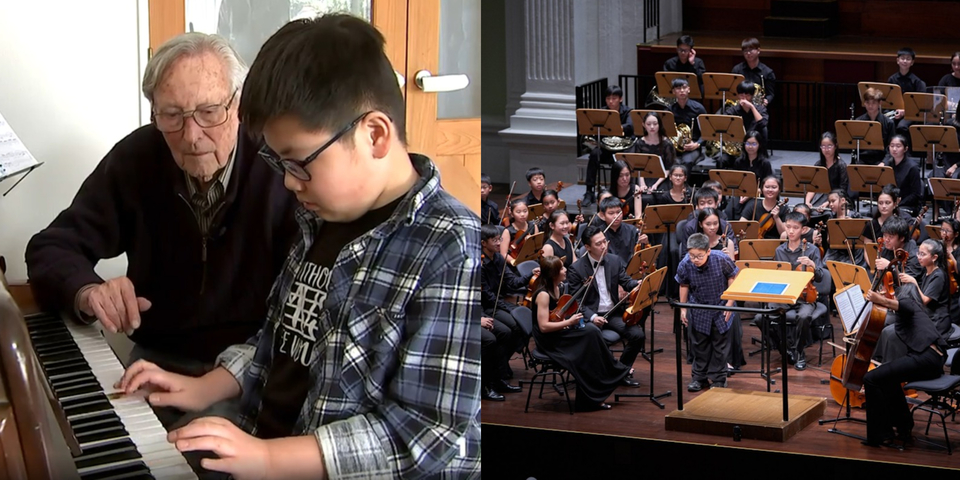 Music prodigy Nathanael Koh on composing for Kids' Philharmonic, whimsical instrument inventions, favourite foods, and more – watch