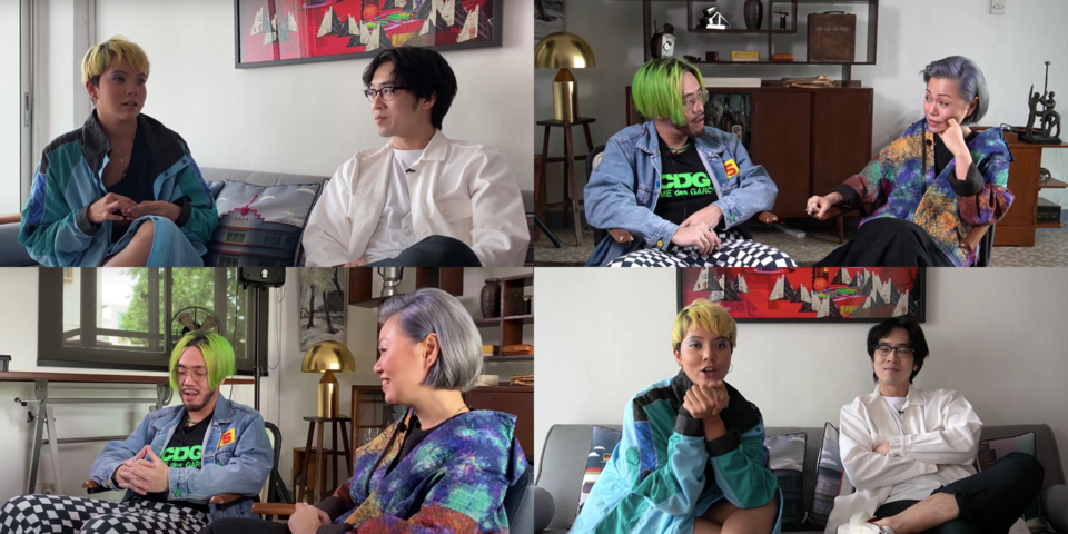 Charlie Lim, Aisyah Aziz, Joanna Dong, and ShiGGa Shay join forces to showcase the importance of art with The Foundation's UTOPIA