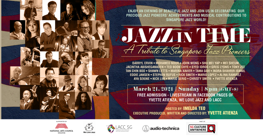 Tribute concert for Singapore's Jazz Pioneers to feature Darryl Ervin, Yvette Atienza, Aya Sekine, Greg Lyons and more