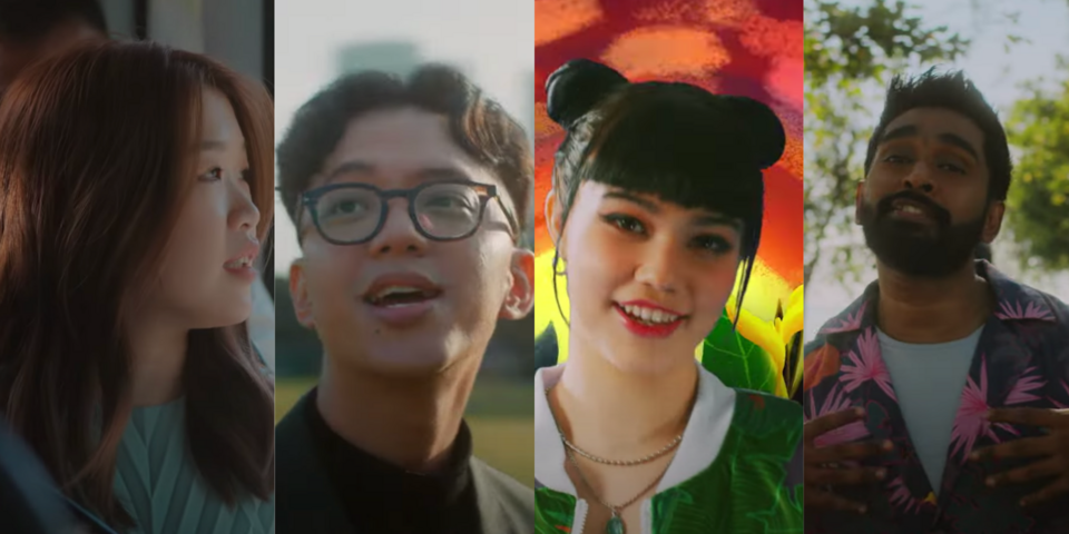 NDP 2021 Theme Song 'The Road Ahead' features Linying, Sezairi, Shye and Shabir — watch