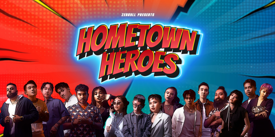 Zendyll Music Agency debuts 'Hometown Heroes', a gameshow docuseries featuring Singapore music artists