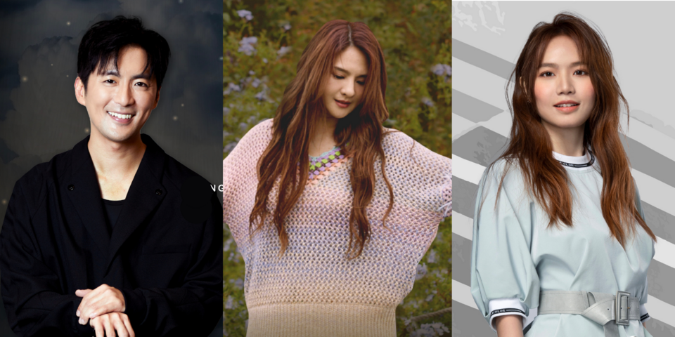 Tickets on sale for AL!VE VOL 9, 12, and 13 featuring Hong Junyang, Claire Kuo, and Boon Hui Lu