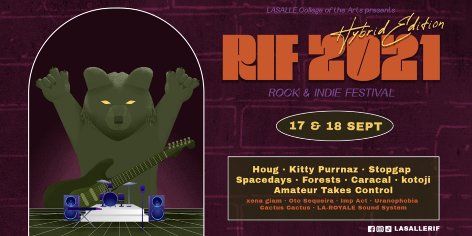 LASALLE Rock & Indie Festival 2021 returns this September with stellar lineup featuring Houg, Forests, Caracal, Kitty Purrnaz, and more