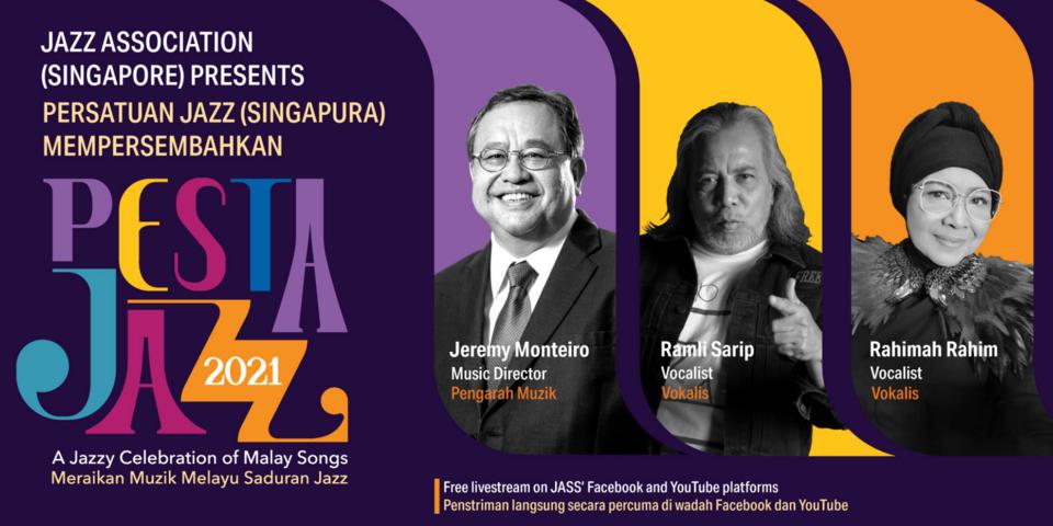 Jazz Association Singapore presents 'Pesta Jazz: A Jazzy Celebration of Malay Songs'