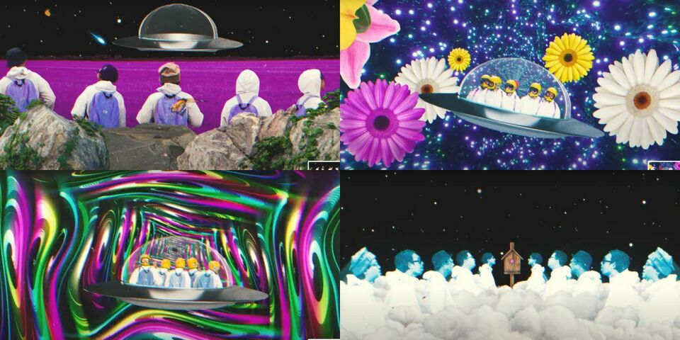 Take a trip to 'Lucy's Space Garden' with Spacedays' superb psych rock music video
