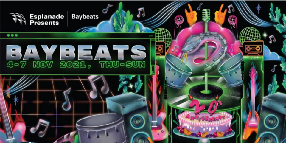 Baybeats returns for a 4-day festival, celebrating their 20th anniversary - here's what to expect