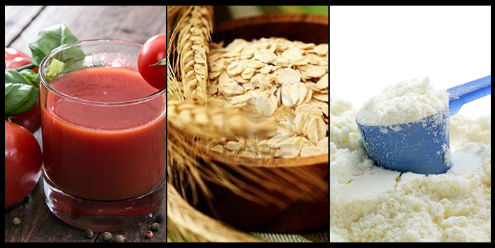 Oatmeal,-tomato-juice-and-milk-powder