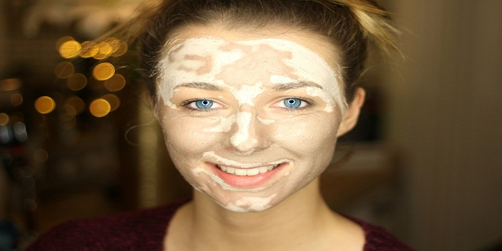 Mud face masks