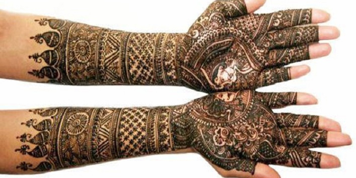Marwari Mehndi Designs1