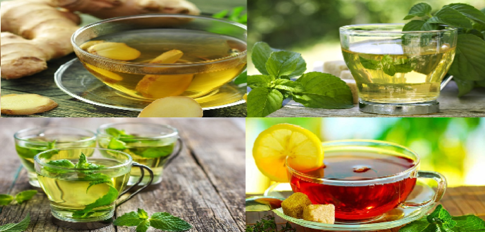 How to get rid of various health issues with herbal tea
