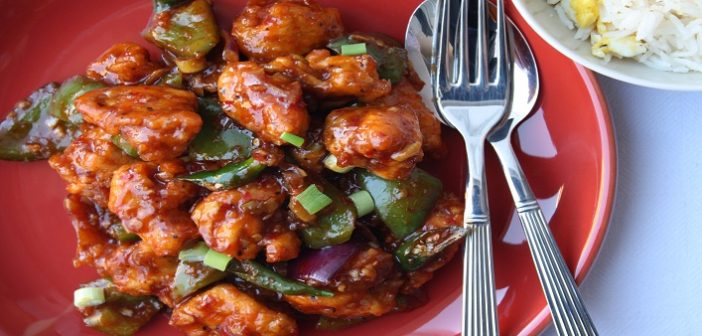 Spicy Hot Boneless Chilli Chicken
