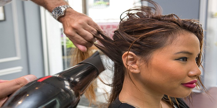 Dry your wet hair before going out