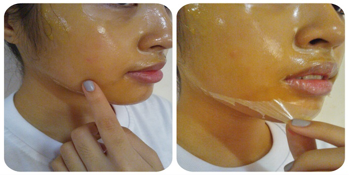 Orange and lemon peel face mask