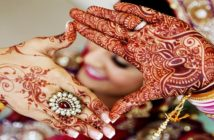 here is how mehandi applied on the occasion of hariyali teej