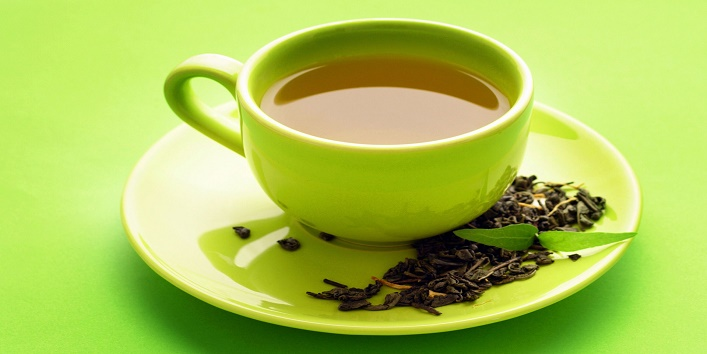 Drink green tea instead of coffee