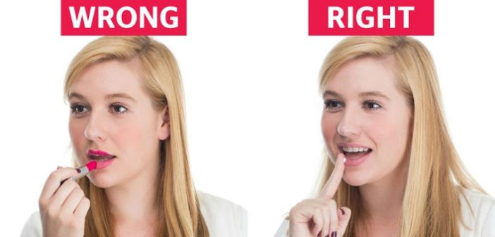 women make these mistakes while applying lipstick cover