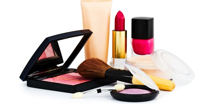 Do not use the same colour makeup products