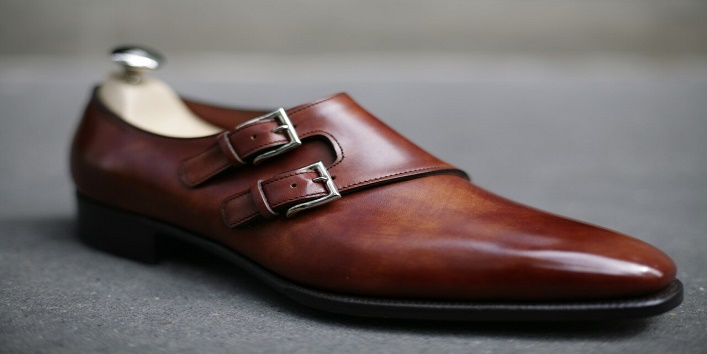 Monkey strap shoes