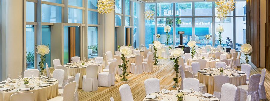 00 cover heritage ballroom wedding banquet set up