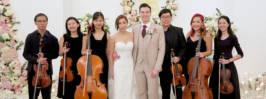 00 cover string sextet for wedding solemnisation at chijmes