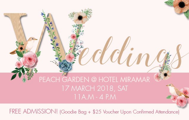 Weddings - By Peach Garden @ Hotel Miramar
