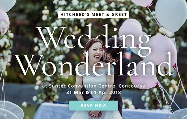 """Hitcheed Meet & Greet """"Wedding Wonderland"""""""