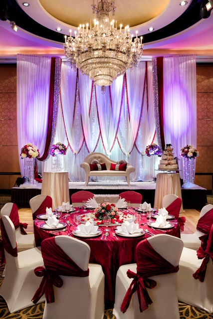 Ethnic wedding at crystal ballroom
