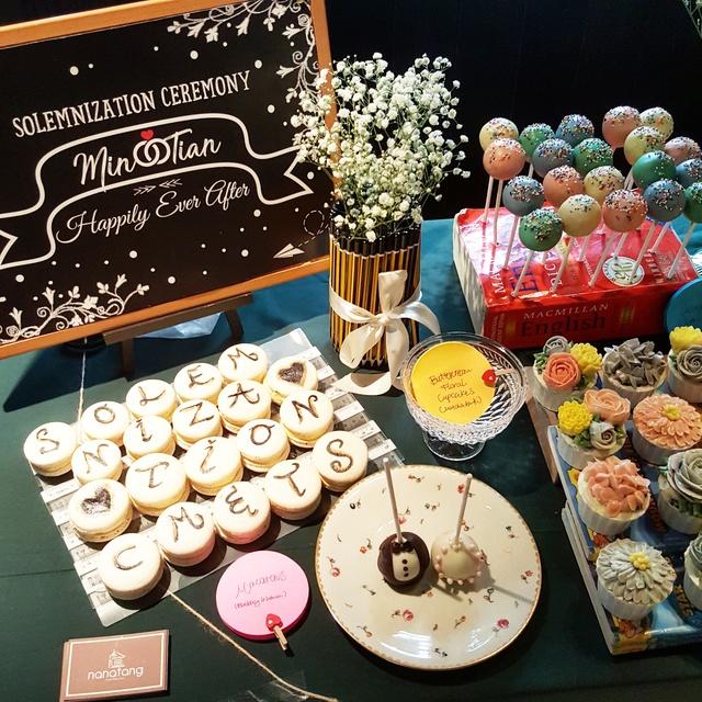 Joyous Wedding Dessert Table