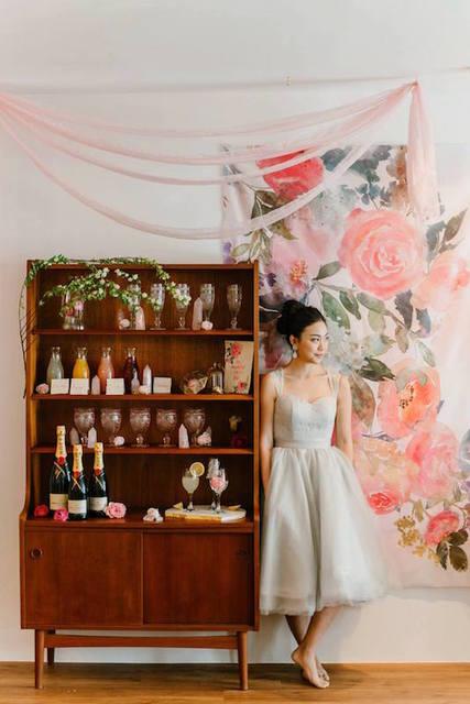A Quartz & Roses Mimosa Bar