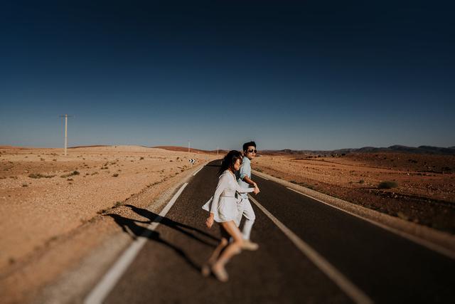 Sahara Desert Elopement