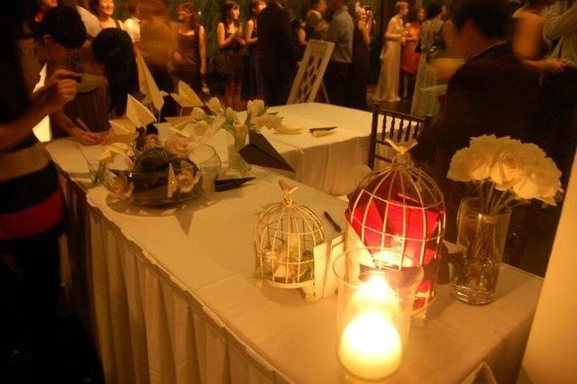 White Theme Wedding