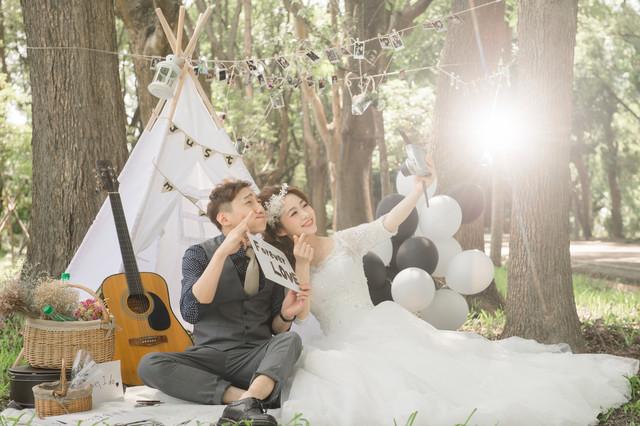 """Qing Jing Farm Taiwan"" Pre-Wedding Photo"