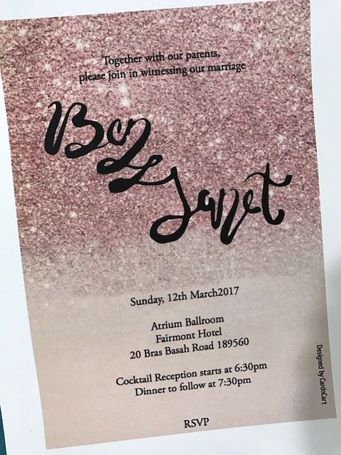 Wedding Invitations - Hand Drawn Invitation