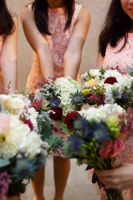 Bridesmaids Posies