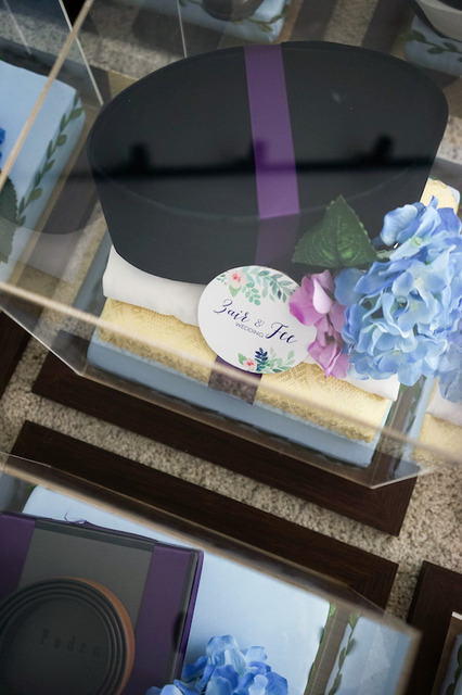 Uzair & Afiqah (Gift Trays)