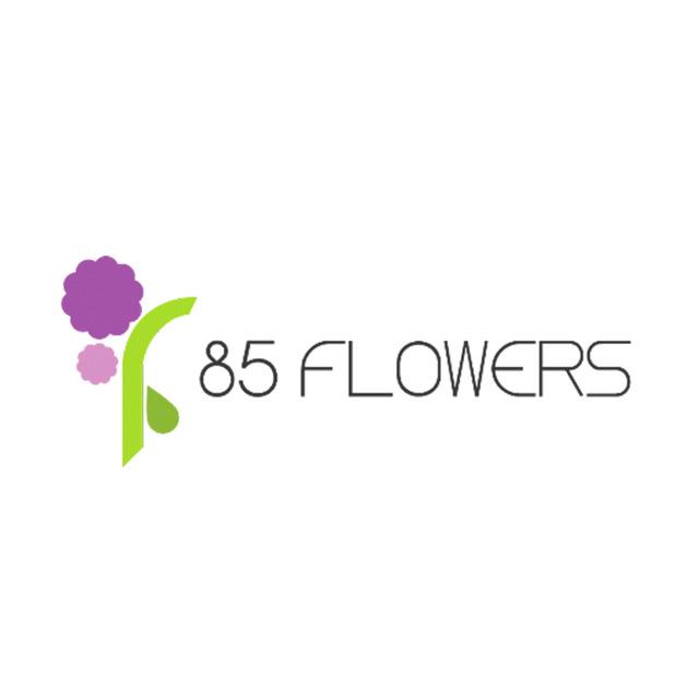 85 flowers logo %28for web%29