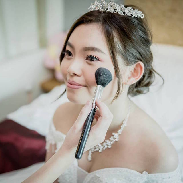 Actual Day Bridal Makeup (IV)