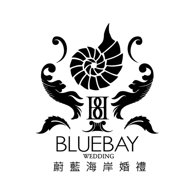 Hitcheed bluebay wedding logo website