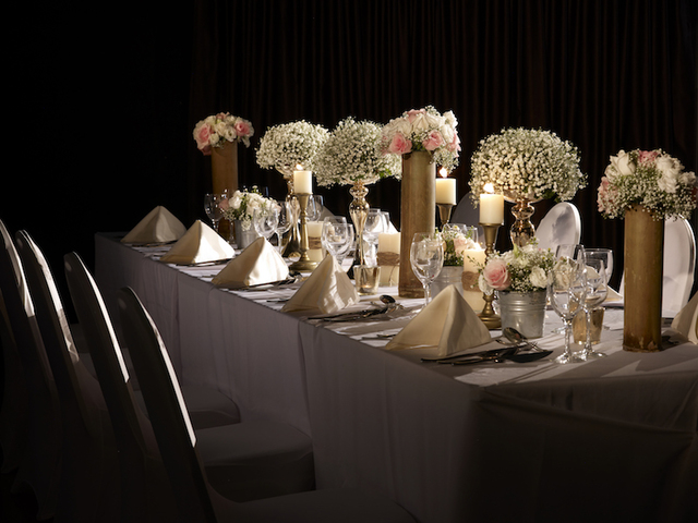 Sit down buffet table setup wedding knots by lavish dine hitcheed sit down buffet table setup watchthetrailerfo