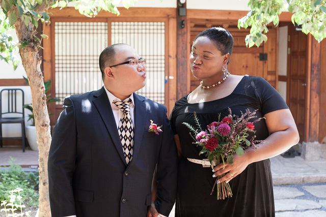 Hanok Wedding Shoot
