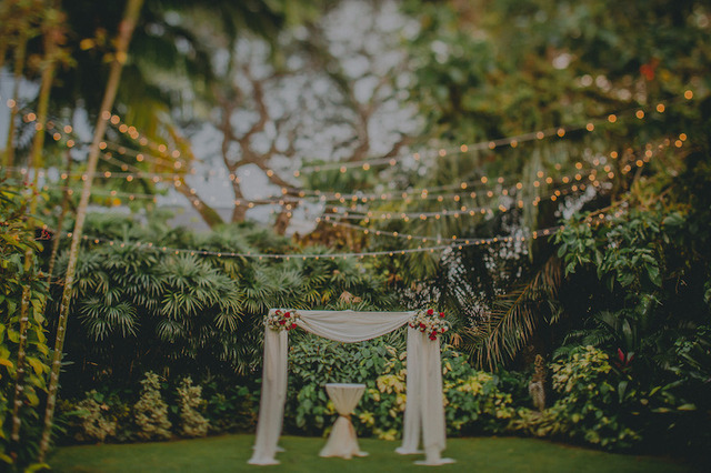 Cover hong ray photography garden wedding rom inside the knot