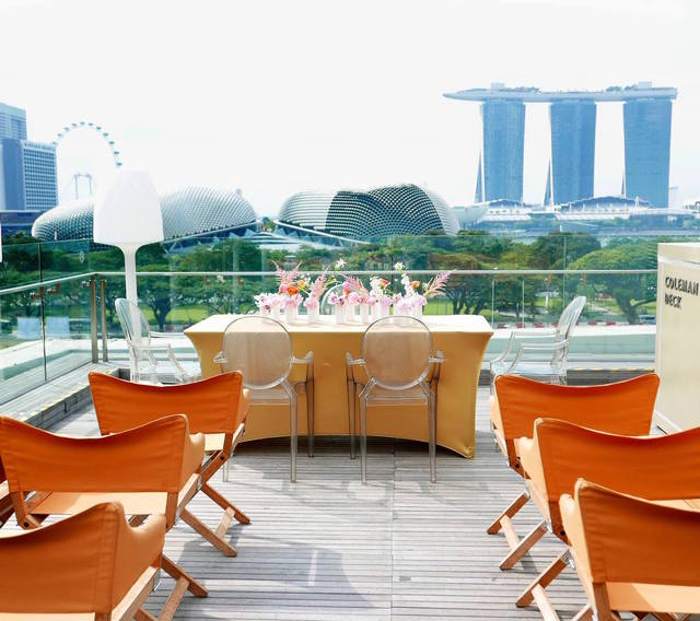 Aura sky lounge coleman deck solemnization ii