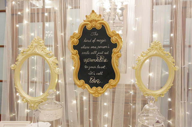 Gold Sparkles Wedding