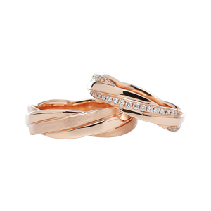 Contemporary Wedding Bands